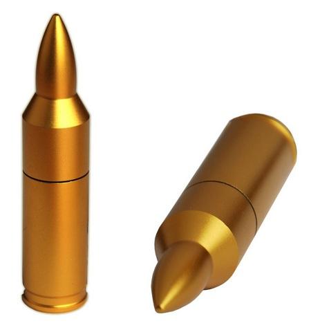 ActiveMP Gold Bullet USB Flash Drive