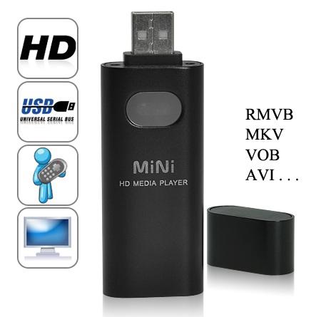 Chinavasion CVNZ-E142 Smallest HD Media Player 1