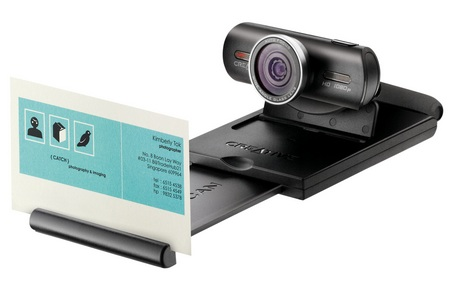Creative Live! Cam Socialize HD 1080 HD Webcam business card scan
