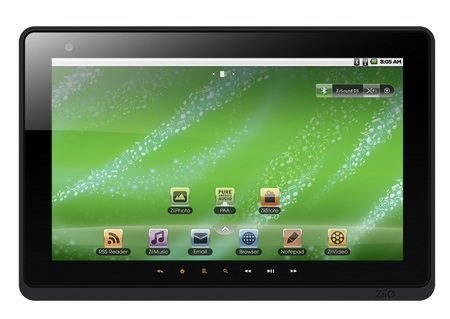 Creative ZiiO 10 Pure Wireless Entertainment Tablet