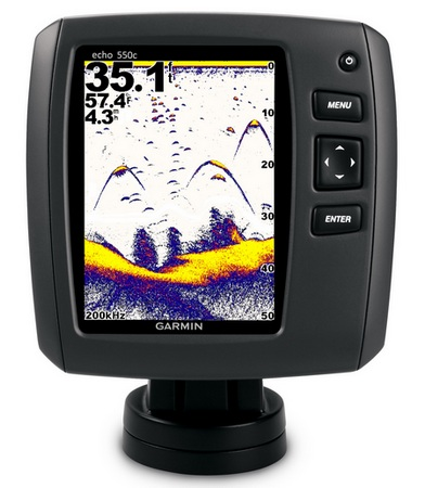 Garmin echo 550C and echo 500C Standalone Fishfinders