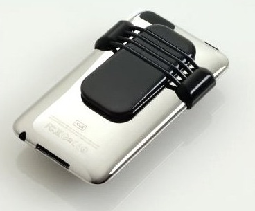 Heracles AppKlip iPhone Clip is made in the USA using recycled plastics