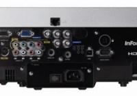 InFocus IN5110 LCD WUXGA Projector back