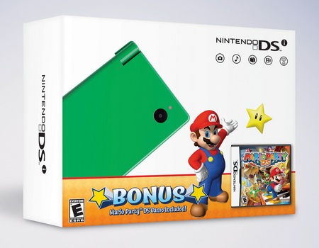 Nintendo DSi Green and Orange Bundles for Black Friday green
