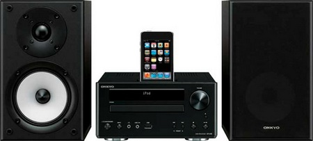 Onkyo CS-V645 DVD CD Mini System