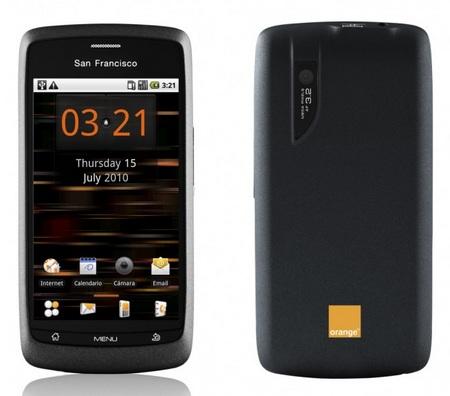 Orange San Francisco ZTE V800 Softbank Libero 003Z Android Phone