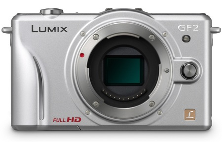 Panasonic LUMIX DMC-GF2 DSLMicro Mirrorless Camera silver