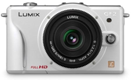 Panasonic LUMIX DMC-GF2 DSLMicro Mirrorless Camera white
