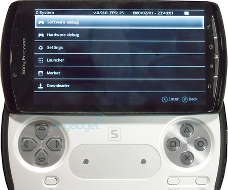 Sony Ericsson's PlayStation Phone Leaked menu