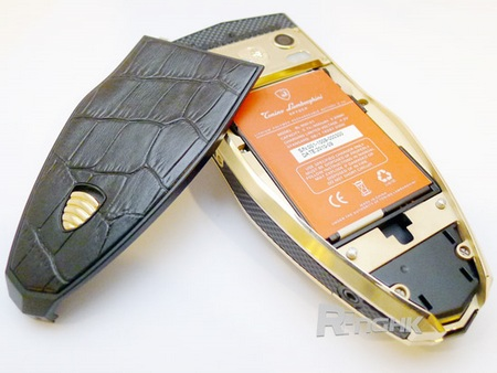 Tonino Lamborghini Spyder Series Mobile Phones back