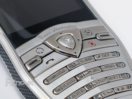 Tonino Lamborghini Spyder Series Mobile Phones buttons