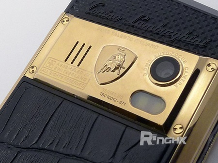 Tonino Lamborghini Spyder Series Mobile Phones camera