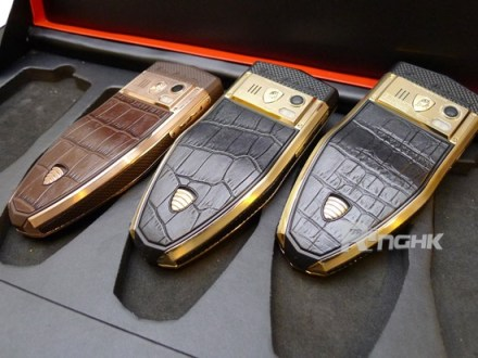 Tonino Lamborghini Spyder Series S-670, S-680 and S-685 mobile phone leather back