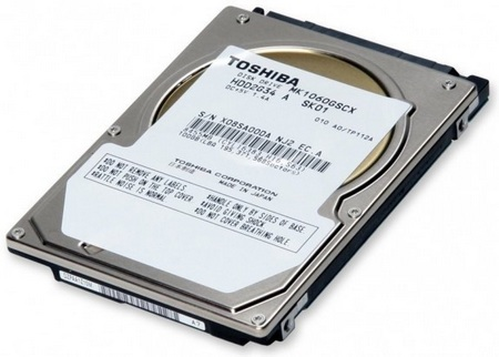Toshiba MK1060GSCX 2.5-inch Hard Drive for Rugged 24-hour Continuous Operation