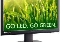 ViewSonic VG2436wm-LED and VG2236wm-LED Eco-Friendly LED Displays