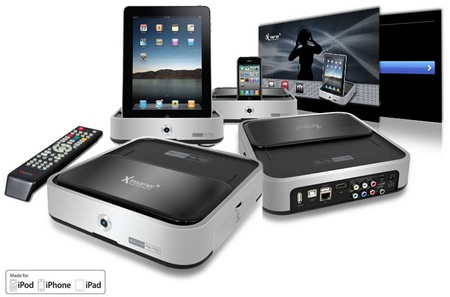 iXtreamer Hybrid Media Player with Dock for iDevices