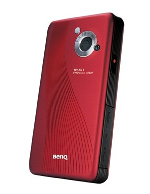 BenQ DV S11 Full HD Camcorder Pico Projector Combo back
