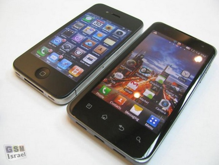 LG Star Tegra 2 Android Phone gets Early Hands-on vs iphone 4