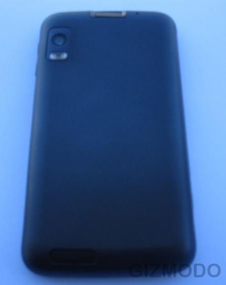 Motorola Olympus Leaked back
