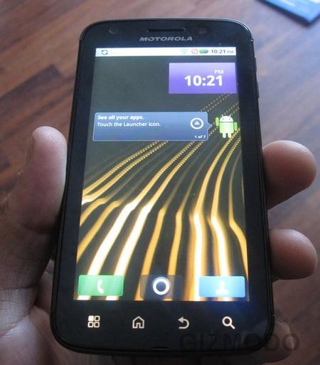 Motorola Olympus Leaked