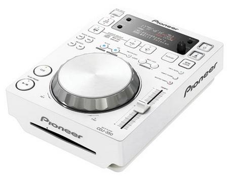 Pioneer CDJ-350-W digital media player
