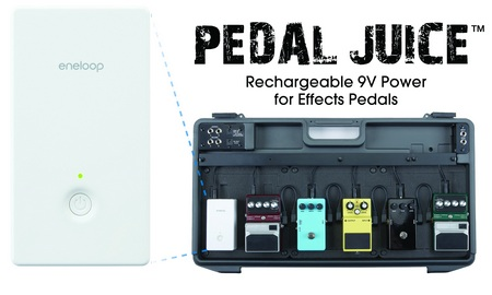 Sanyo eneloop KBC-9V3U Pedal Juice Rechargeable 9V Power for Effects Pedals