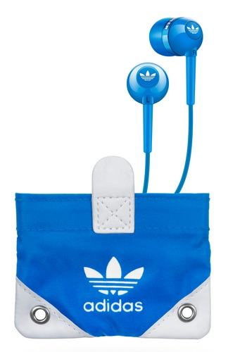 Sennheiser CX310 by adidas Originals earphones carrying pouch