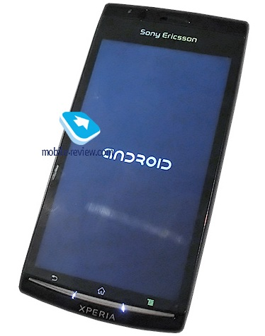 Sony Ericsson XPERIA ANZU X12 Android Phone Previewed front
