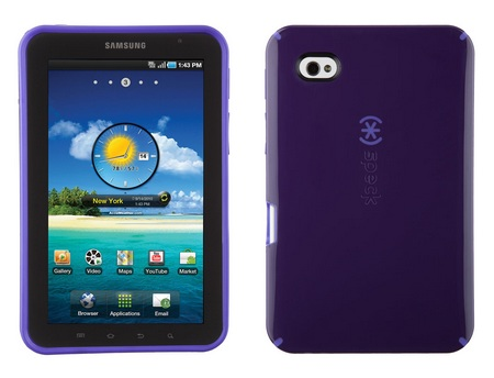 Speck Candyshell Cases for Galaxy Tab purple