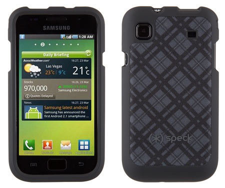 Speck Fitted case for Samsung Galaxy S Vibrant grey