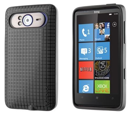 Speck PixelSkin HD for HTC HD7 black 1