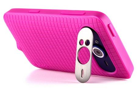 Speck PixelSkin HD for HTC HD7 pink