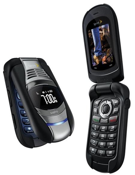 Sprint Kyocera Sanyo Taho Ruggedized, Water Resistant Mobile Phone 1