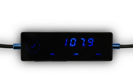 iKit AutoCon FM Transmitter with Touchscreen Control screen