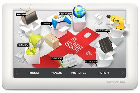 Cowon 3D 4.8-inch PMP does 1080p Playback 1