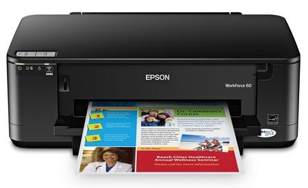 Epson WorkForce 60 WiFi Printer