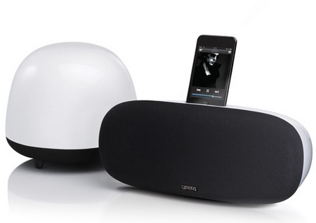 Gear4 SoundOrb Aurora iPod iPhone Speaker System with Wireless Subwoofer 1
