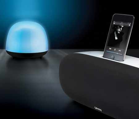 Gear4 SoundOrb Aurora iPod iPhone Speaker System with Wireless Subwoofer