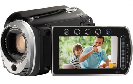 JVC HD Everio GZ-HD520 Full HD Camcorder with 120GB Hard Drive 1