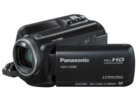 Panasonic HDC-HS80 Full HD Camcorder with 120GB hard drive