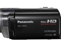 Panasonic HDC-SD90 3D-Capable 1MOS Full HD Camcorder