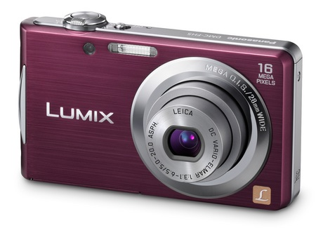 Panasonic LUMIX DMC-FH5 Slim Digital Camera