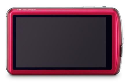 Panasonic LUMIX DMC-FP7 touchscreen camera back