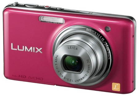 Panasonic LUMIX DMC-FX78 Ultra-Compact Digital Camera with Touchscreen and Full HD Video pink