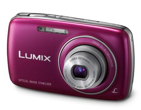Panasonic LUMIX DMC-S3 digital camera violet