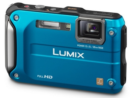 Panasonic LUMIX DMC-TS3 Rugged Digital Camera blue