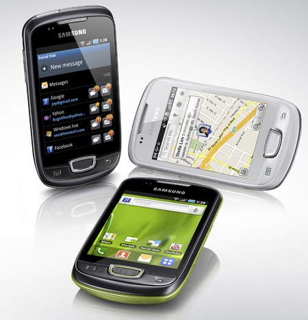 Samsung Galaxy Mini S5570 Android phone