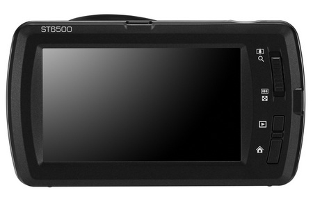 Samsung ST6500 Stylish Touchscreen Camera back