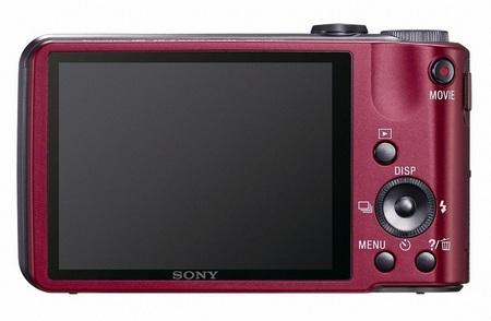 Sony Cyber-shot DSC-HX7V CompactCamera with 10x Optical Zoom back