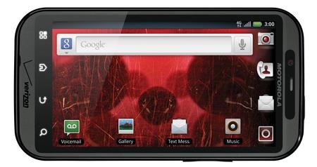 Verizon Motorola DROID BIONIC Dual-Core Android Smartphone landscape